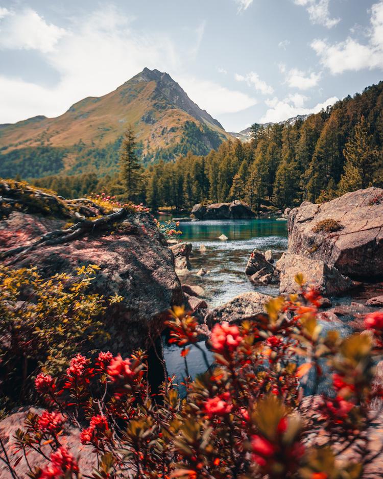wandelen in graubunden zwitserland