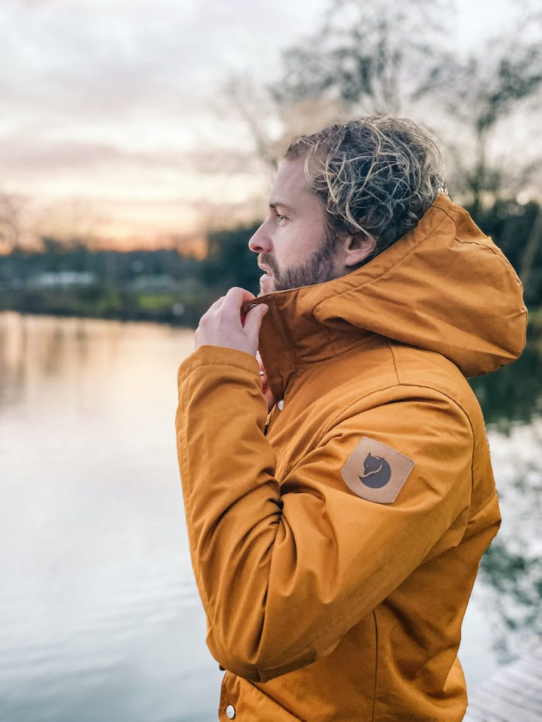 wandelen in nederland winterjas