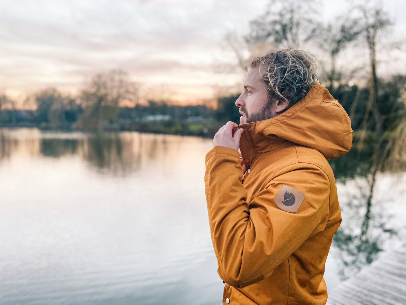 wandelen nederland winterjas