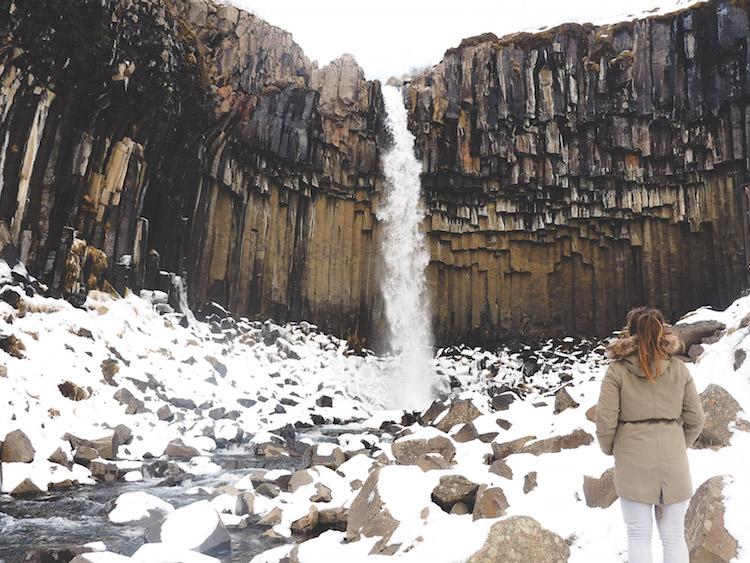 wandelen skaftafell falls ijsland