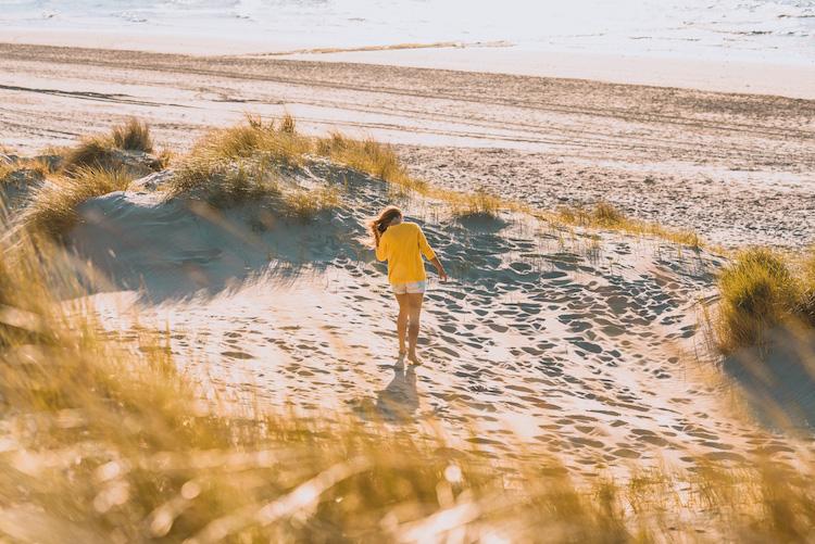 wandeling mooiste strand belgie bredene