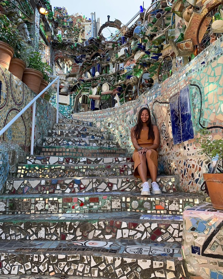 wat doen in philadelphia tips philadelphias magic gardens