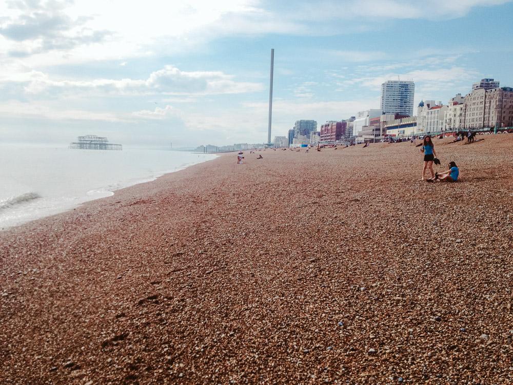 wat te doen in Brighton bezienswaardigheden strand