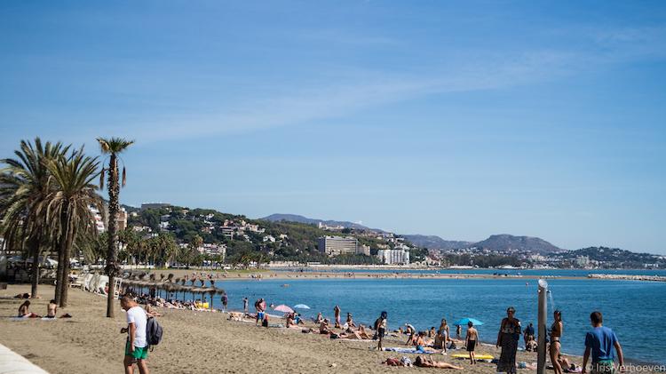 wat te doen in Malaga stranden