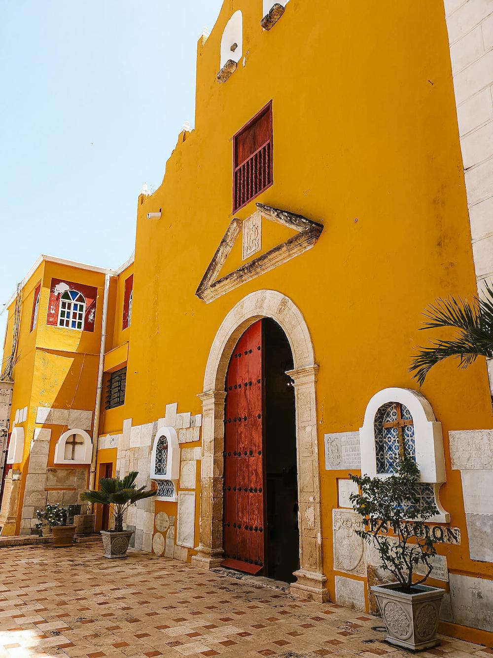 wat te doen in campeche kerk mexico