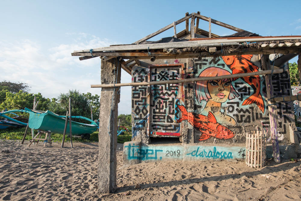 wat te doen in canggu streetart