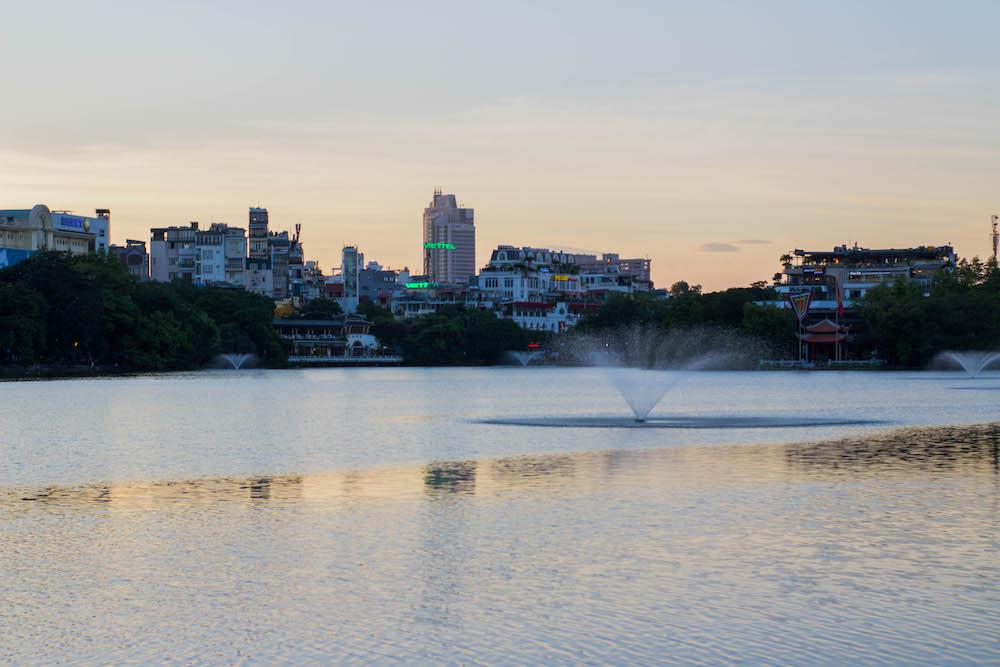 wat te doen in hanoi Hoan Kiem Lake bezoeken