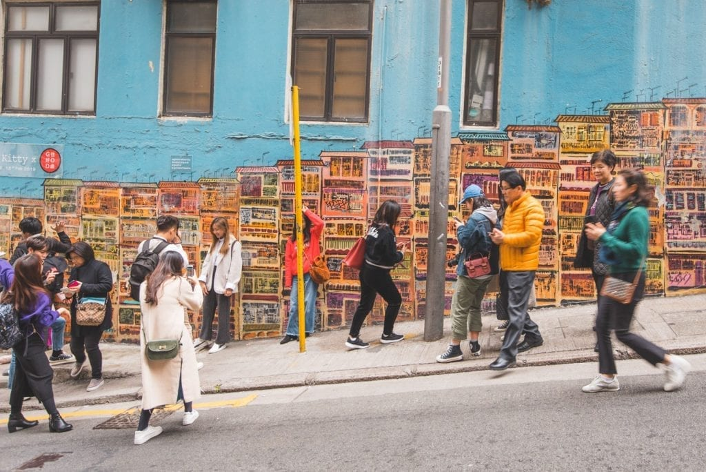 wat te doen in hong kong Alex Croft streetart