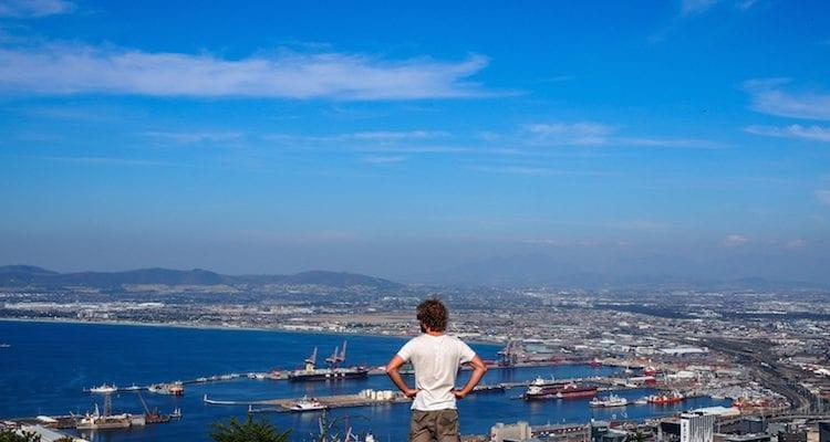 Wat te doen in Kaapstad Zuid Afrika uitzicht