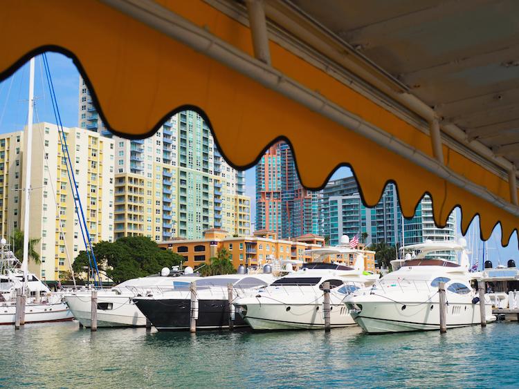 wat te doen in Miami water taxi