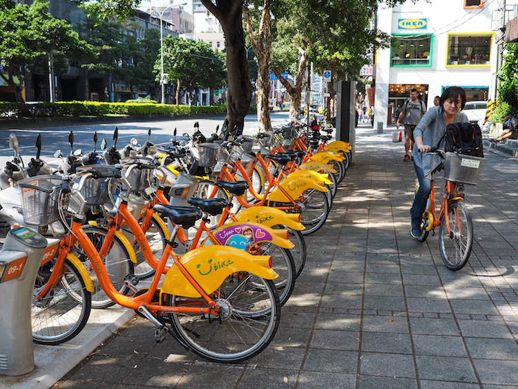 wat te doen in taipei fietsen