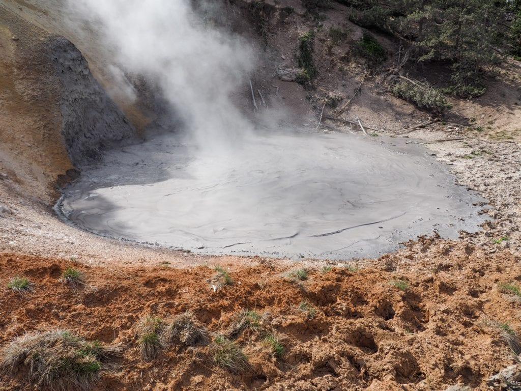 Wat te doen in yellowstone mud