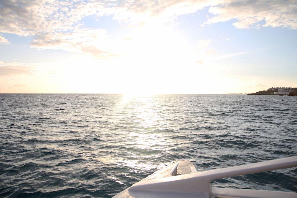 wat te doen op Sint Maarten activiteiten Sunset Sail