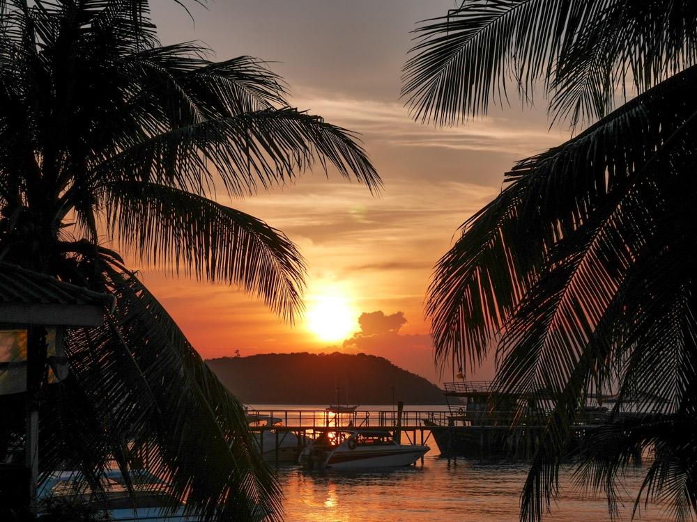 wat te doen op koh samui thailand zonsondergang