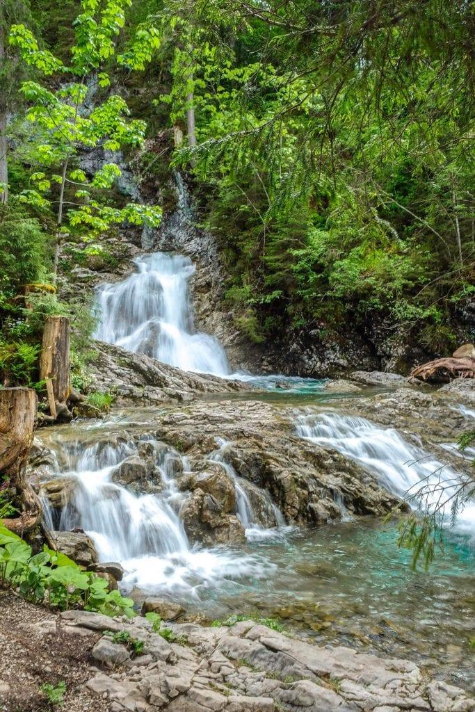 waterval Kleinwalsertal oostenrijk
