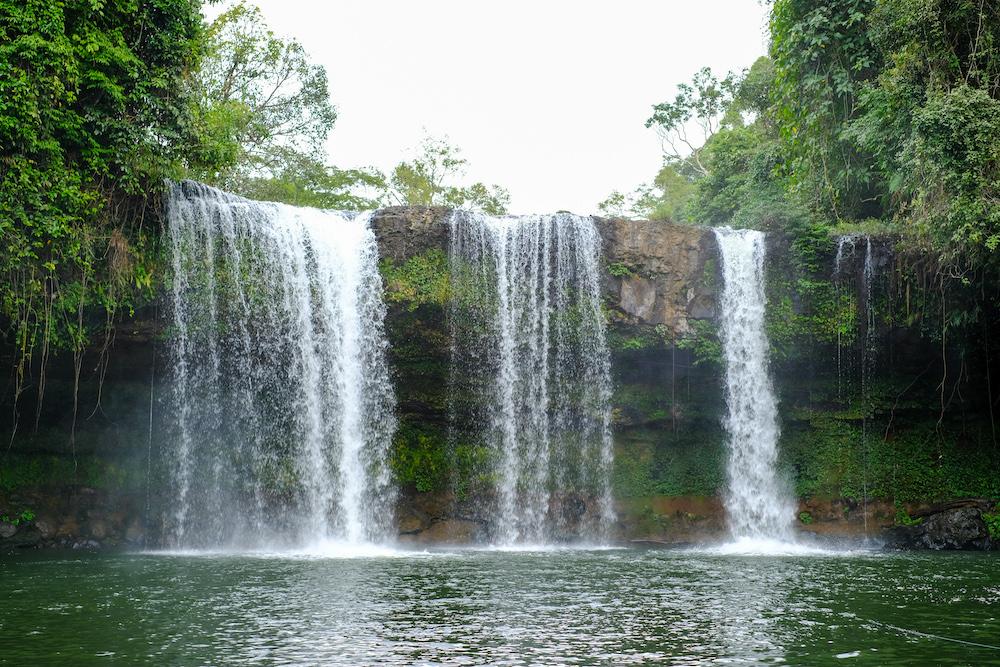 watervallen bolaven plateau laos tads