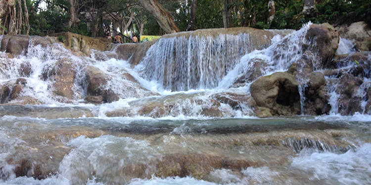 watervallen jamaica Dunns River Waterfalls