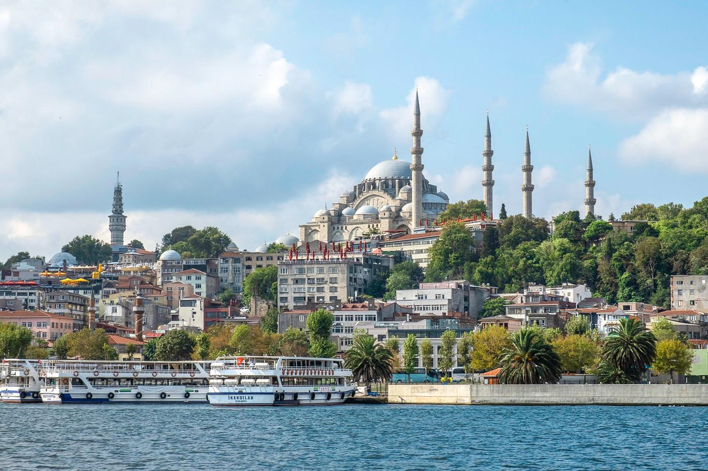 weekend Istanbul blauwe moskee