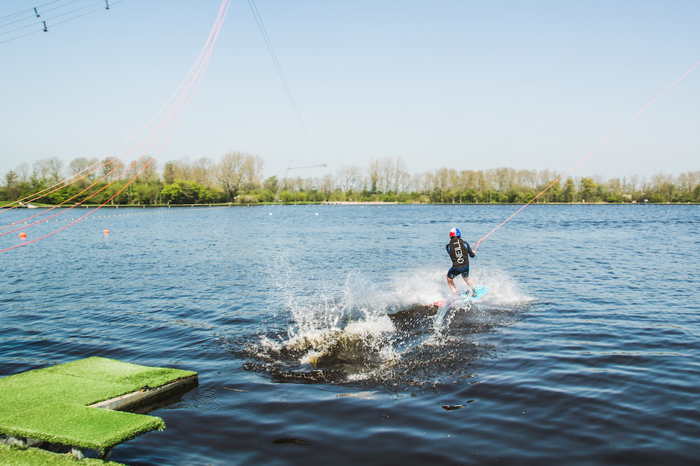 weekend friesland Waterskien wakeboard
