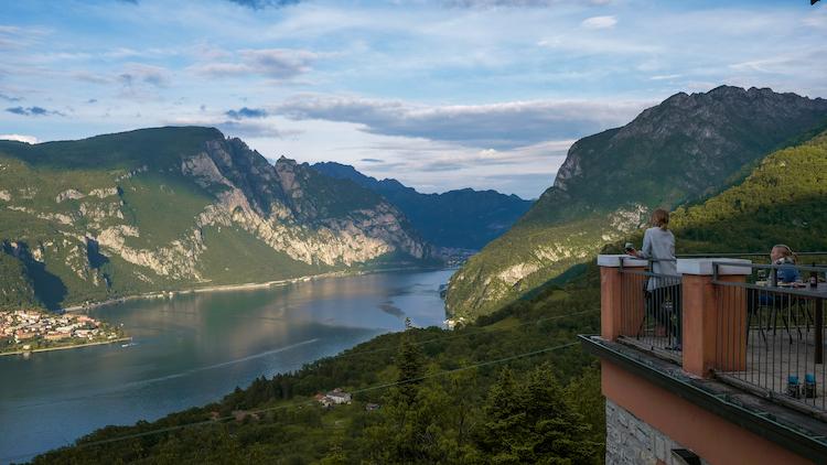weekend milaan airbnb uitzicht lecco