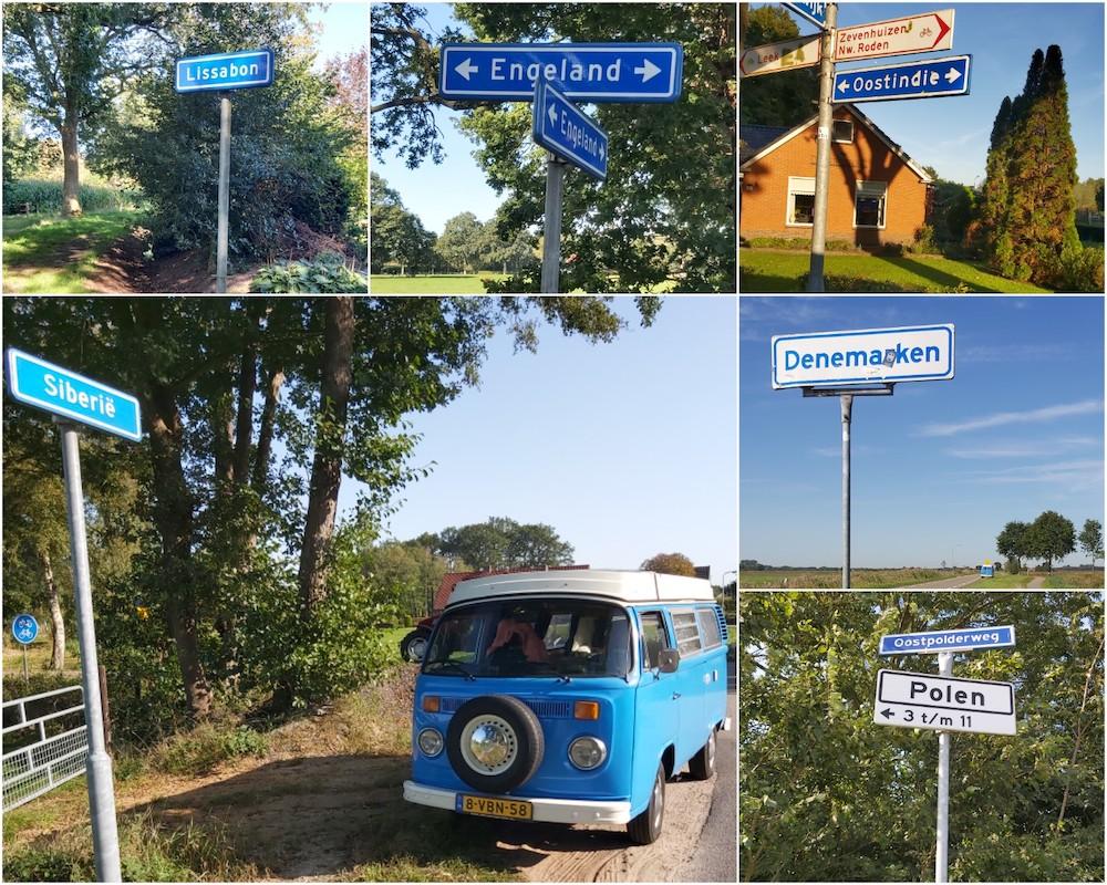 wereldreis door Nederland plaatsnamen buitenlands