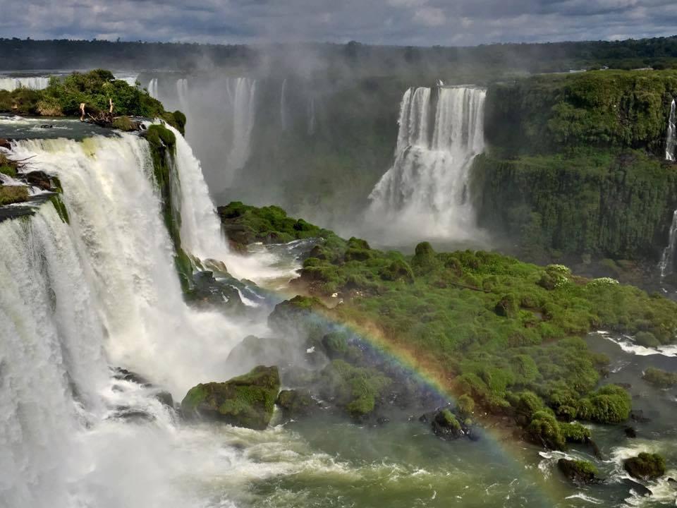 wereldreis route landen iguazu watervallen