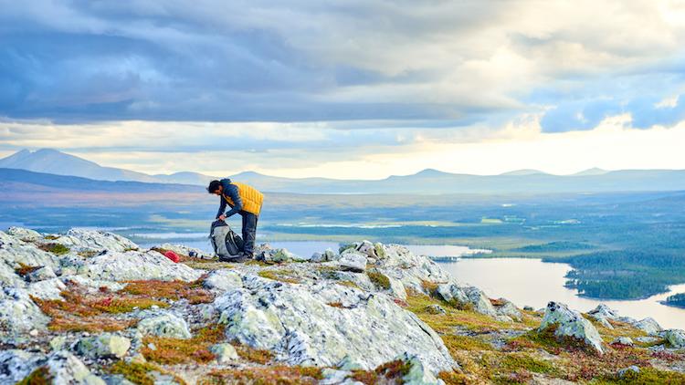 wildkamperen in noorwegen bram berkien met k-jak