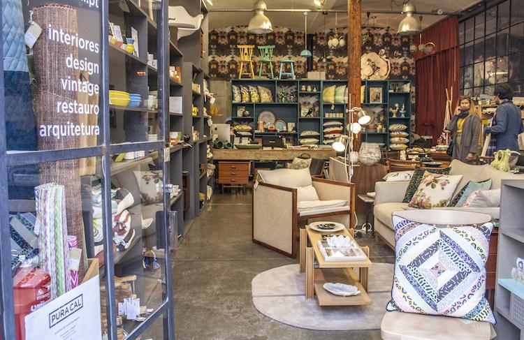winkeltje in LX Factory in lissabon