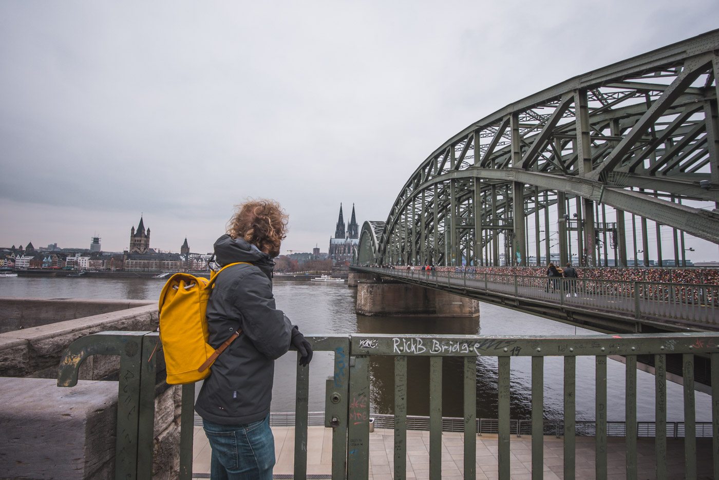 winter in keulen Hohenzollern