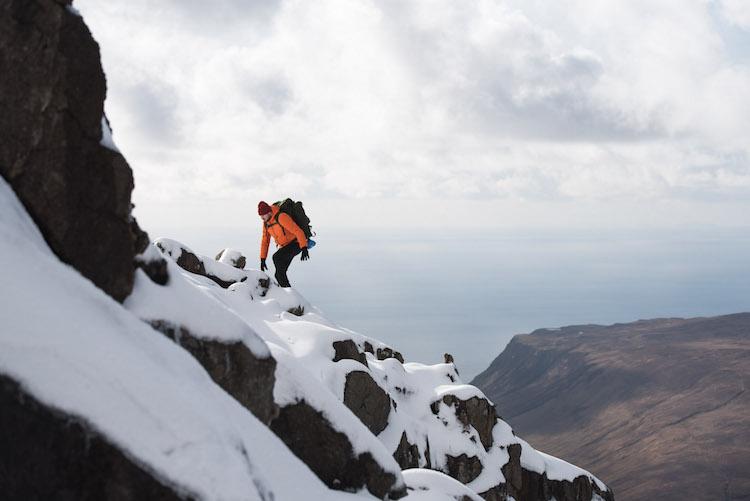 winter schotland Sgurr Alasdair