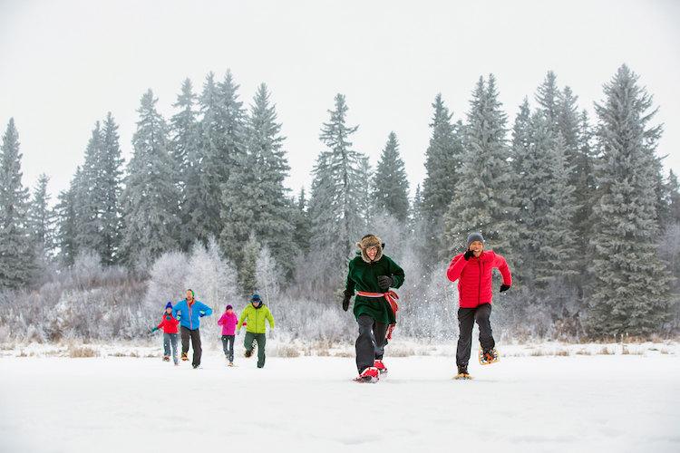 winterreis canada sneeuwschoenwandelen vakantie