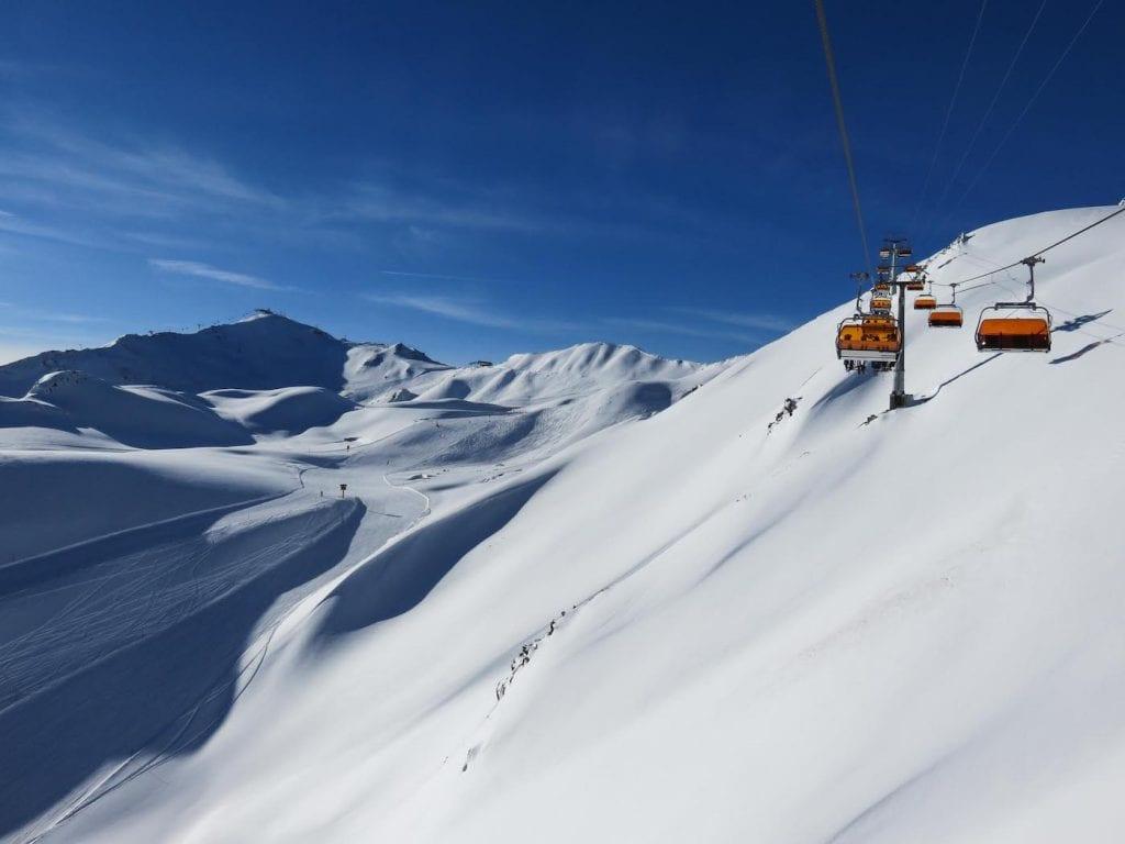 wintersport Ischgl en kappl liften