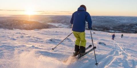 wintersport Norefjell noorwegen