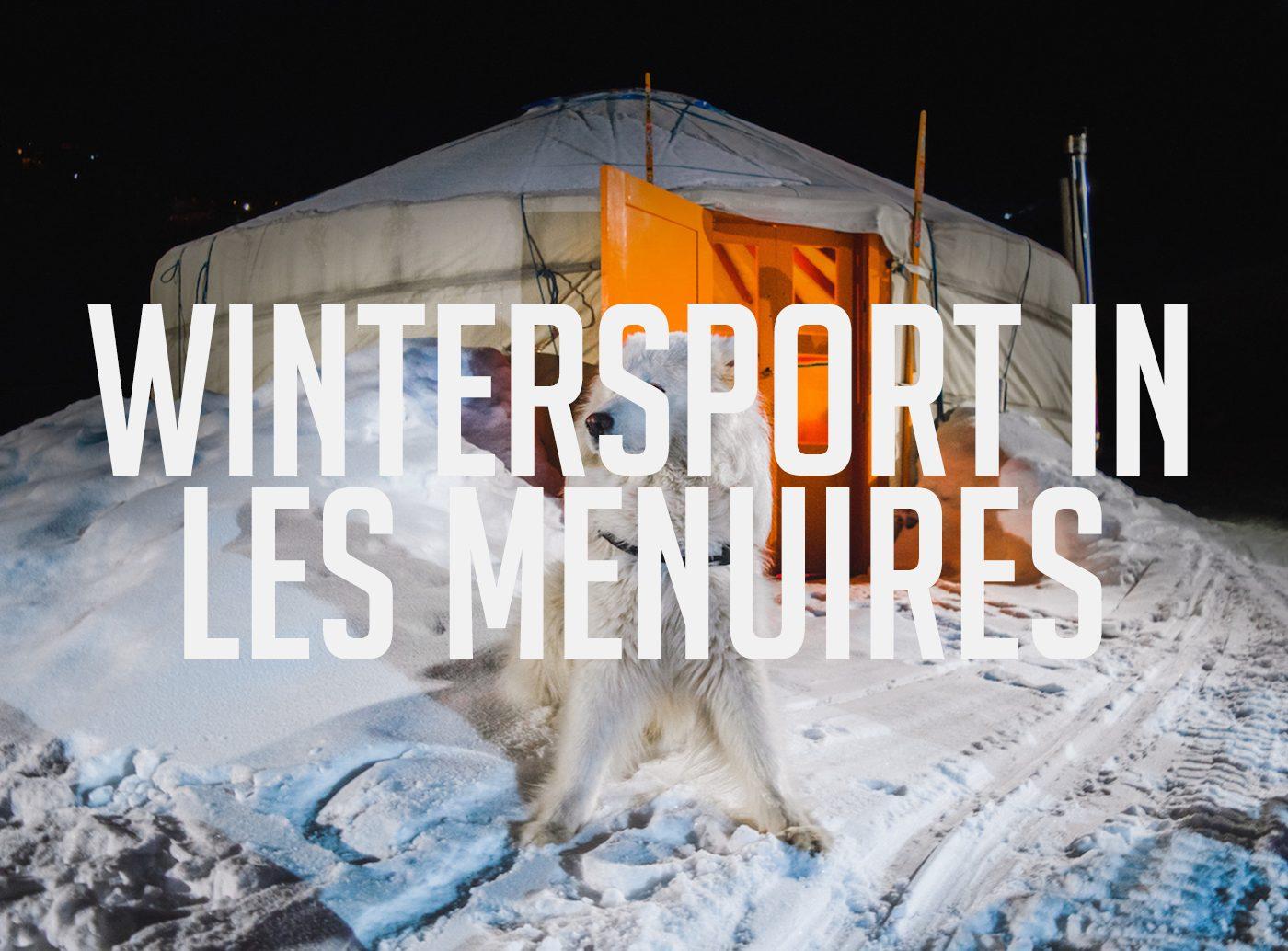 wintersport in les menuires