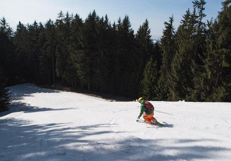 wintersport in maart in oostenrijk