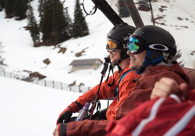 wintersport in maart kitzbuheler alpen