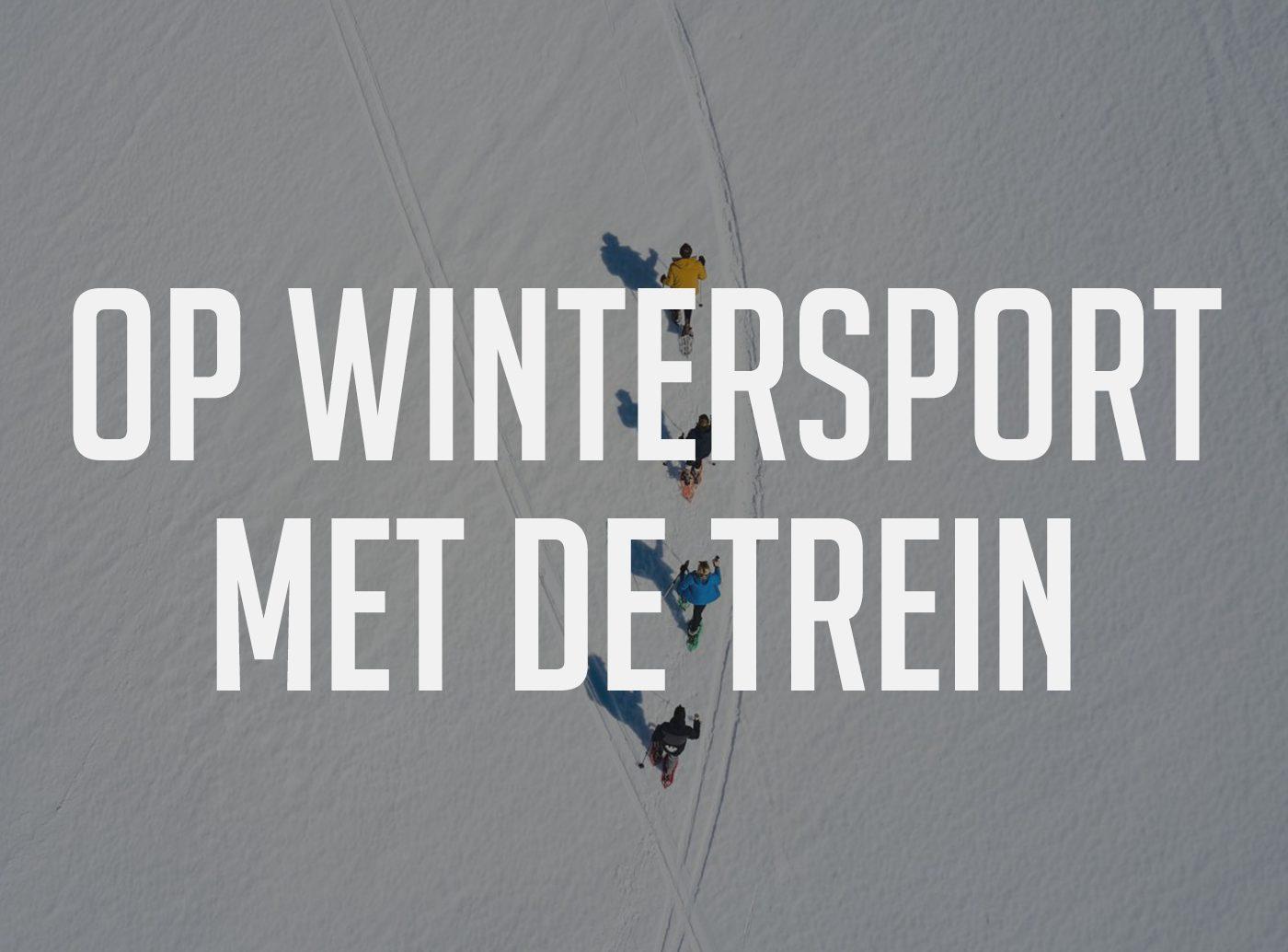 wintersport met de trein franse alpen