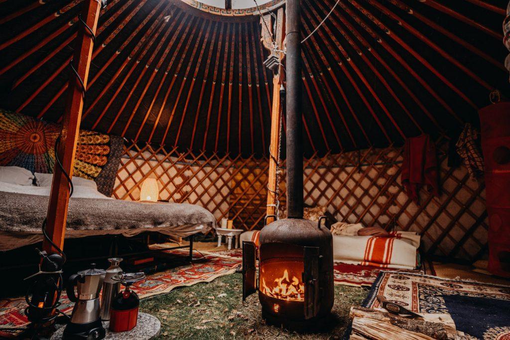 winterwoods yurts nederland
