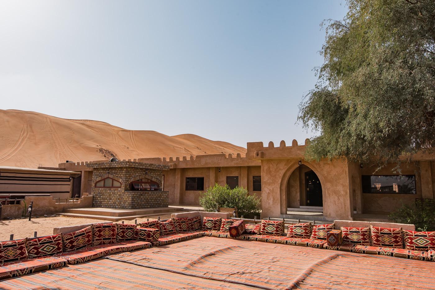 woestijn in oman