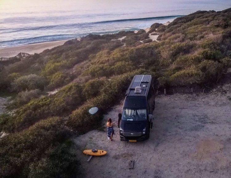 wonen in een camper portugal