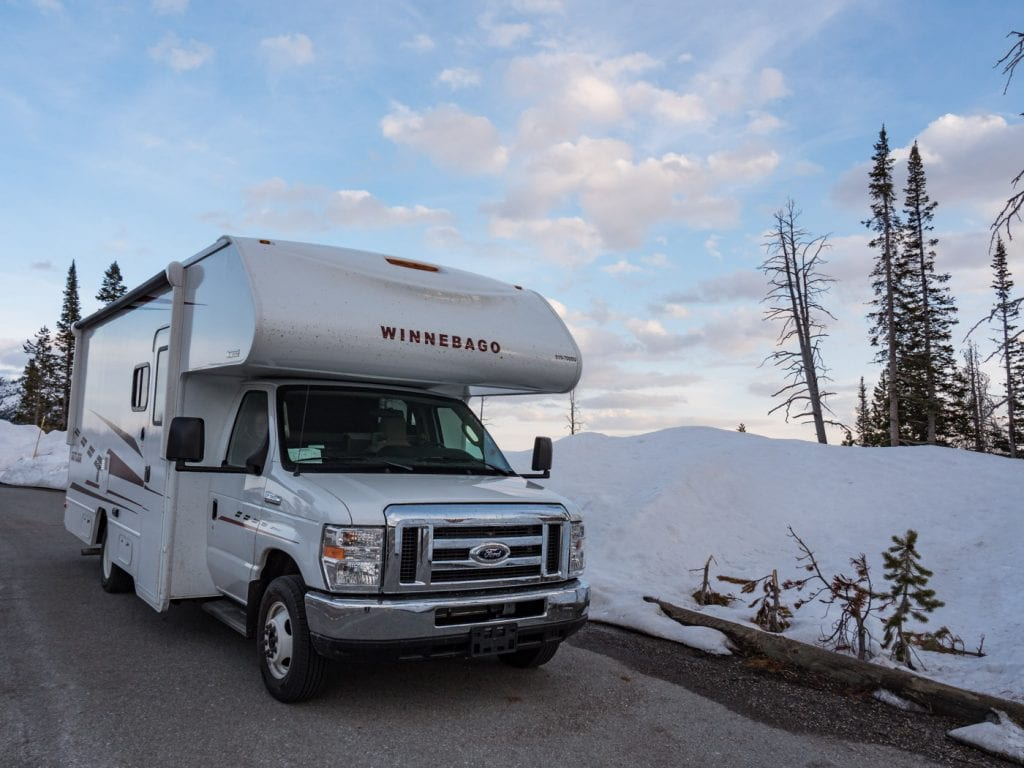 yellowstone national park camper rondreis