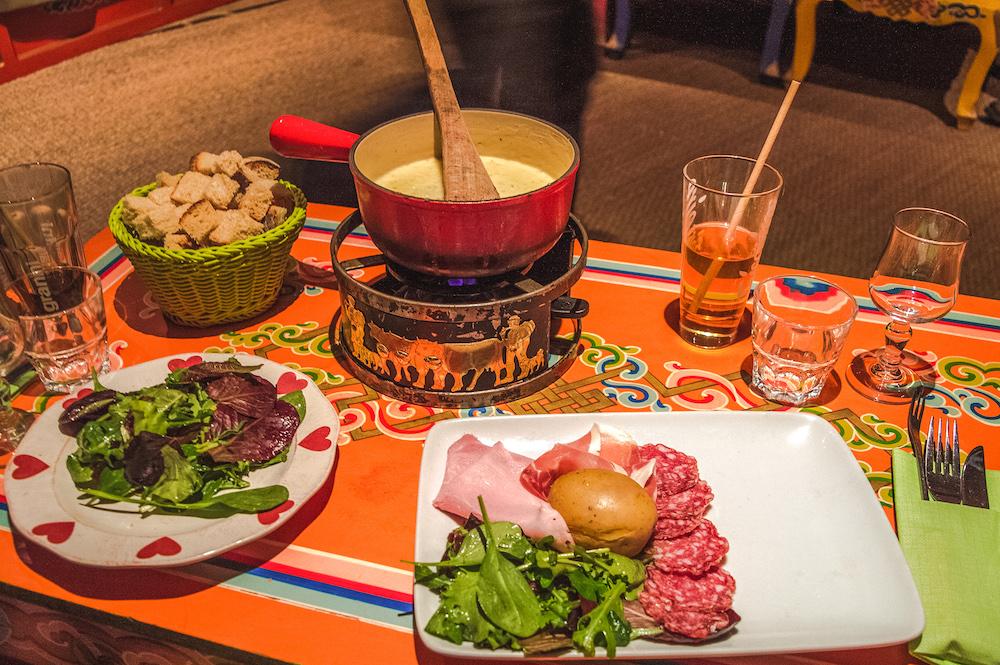 yurt diner les menuires wintersporten