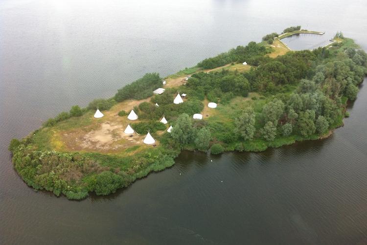 yurt huren eiland