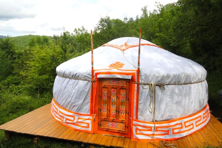 yurt huren ontspan je