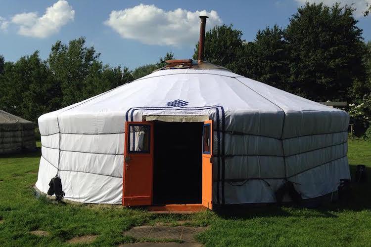 yurt megenscheveer huis huren nederland