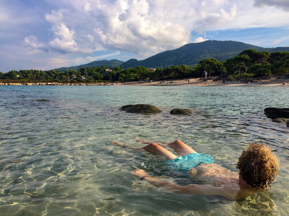 zee Chalkidiki griekenland