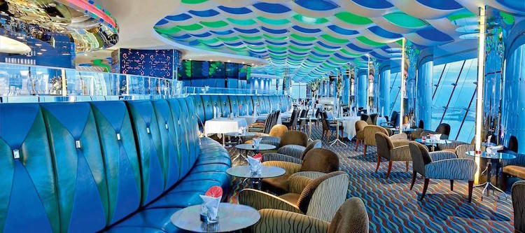 zeven sterren hotel bar