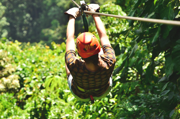 zip lining costa rica arenal sky adventures jungle
