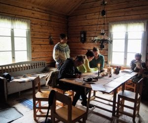 Zomer zweeds lapland geunja sami eco lodge