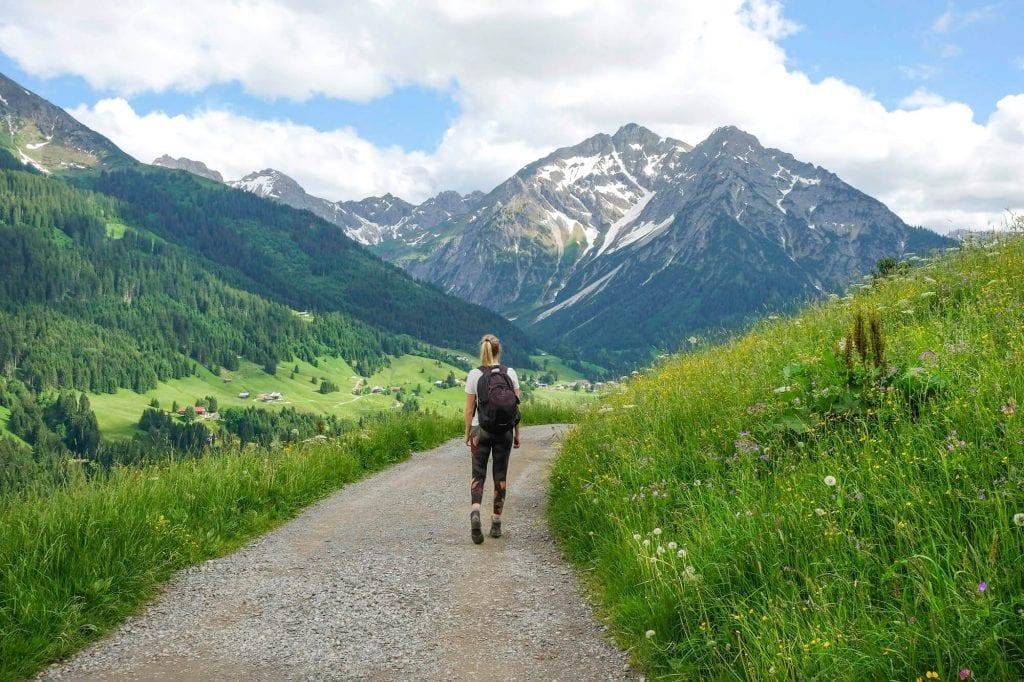 zomervakantie in oostenrijk Kleinwalsertal